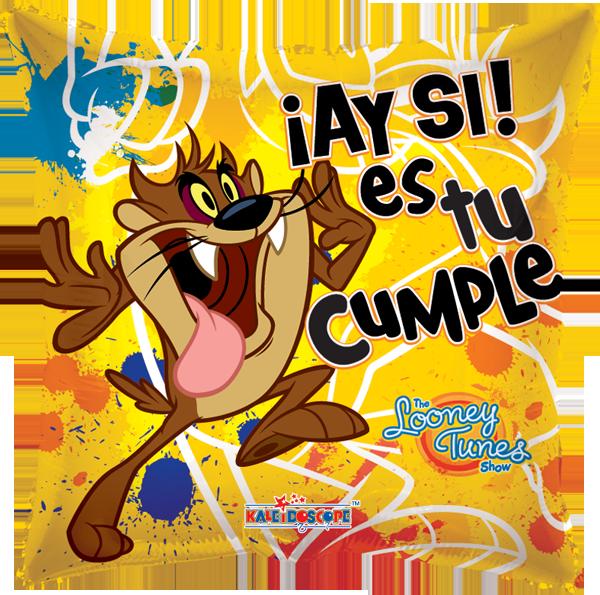 Tarjetas feliz cumpleaños tazmania - Imagui