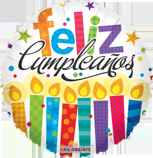 Cumpleaños : Globo Feliz Cumpleaños